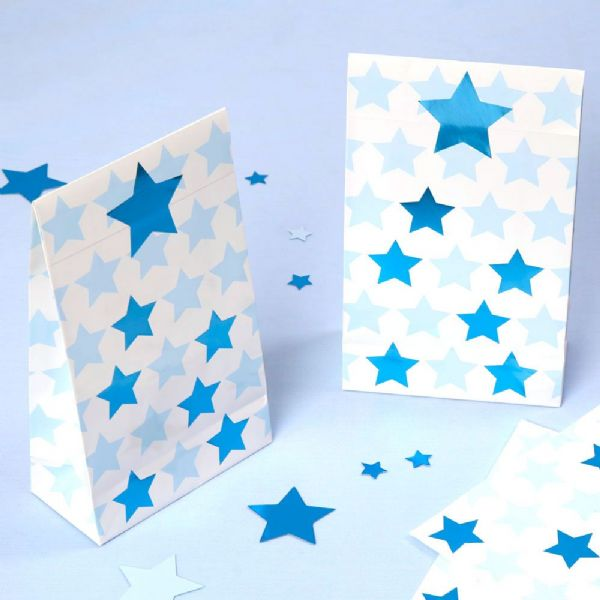 Little Stars Blue Party Bags (5)